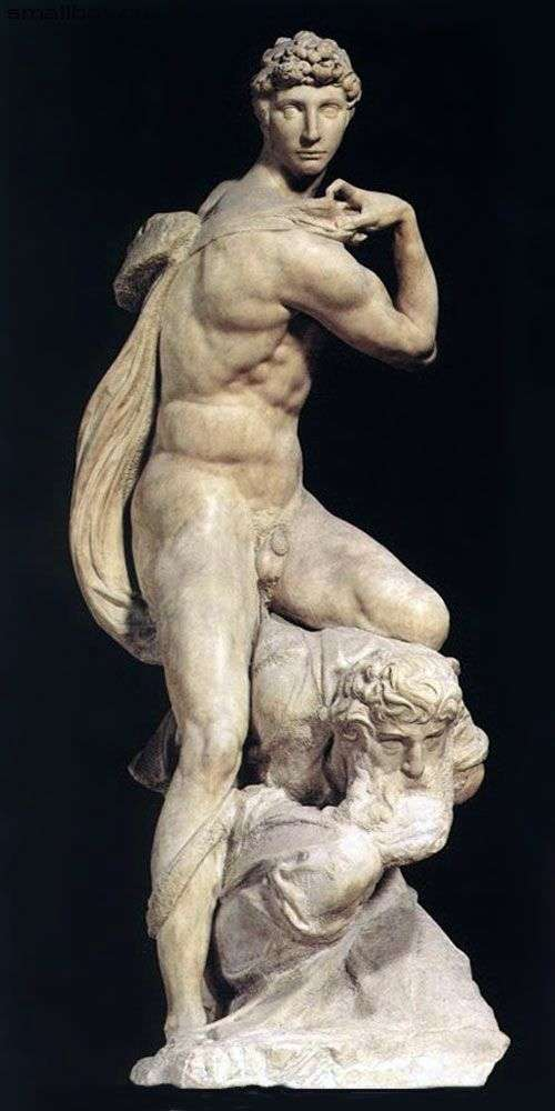 Victory (sculpture) by Michelangelo Buonarroti