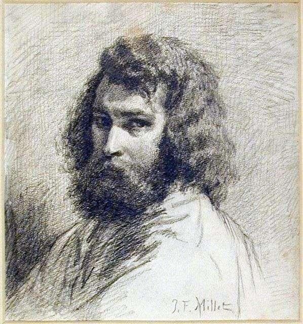 Self Portrait by Jean Francois Millet