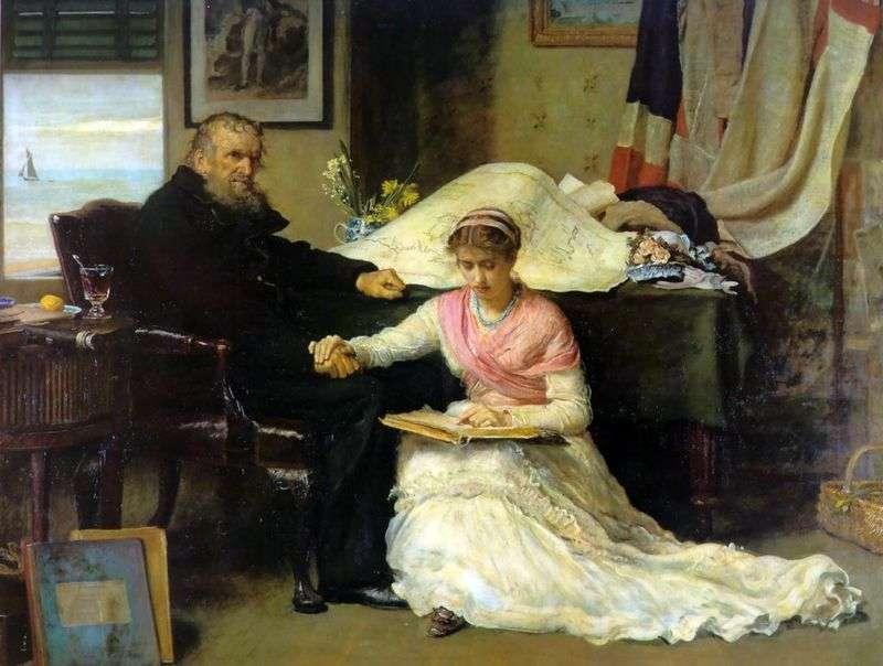 Northwest Passage by John Everett Millais