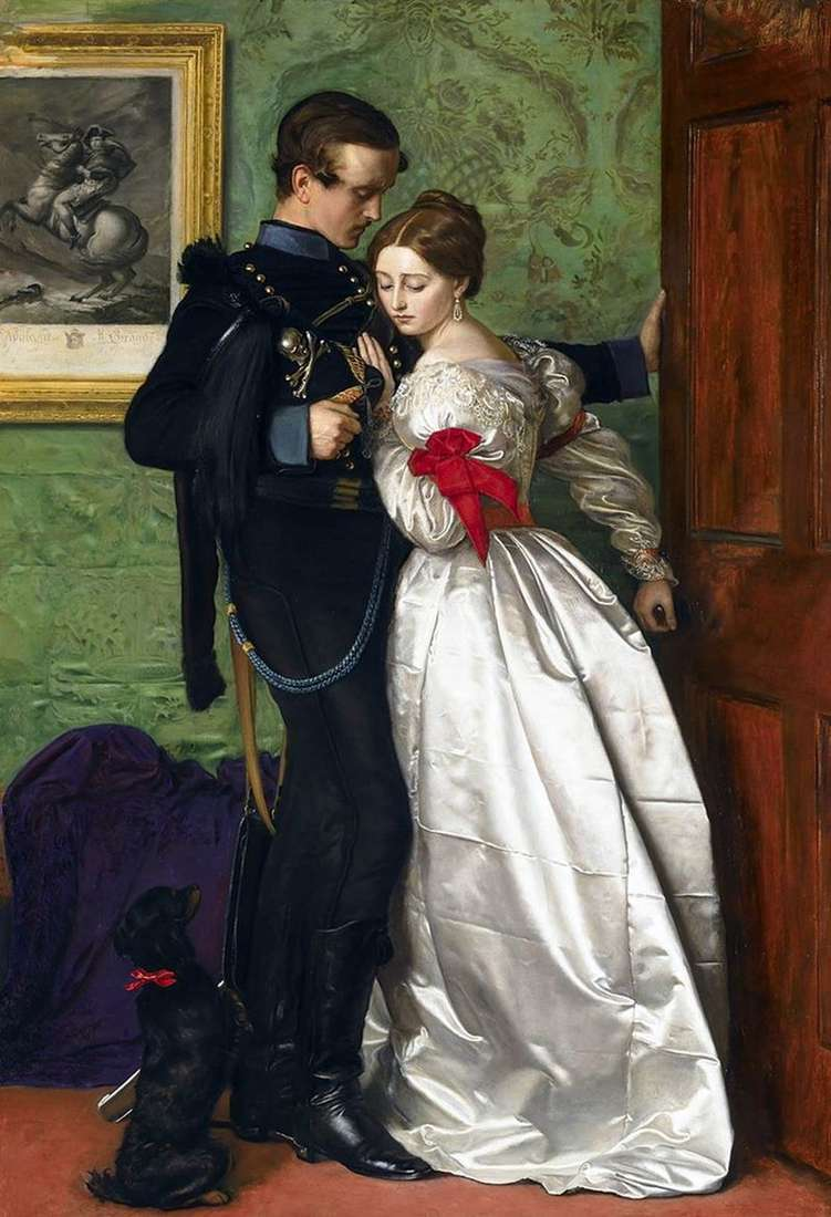 Black Brunswick by John Everett Millais