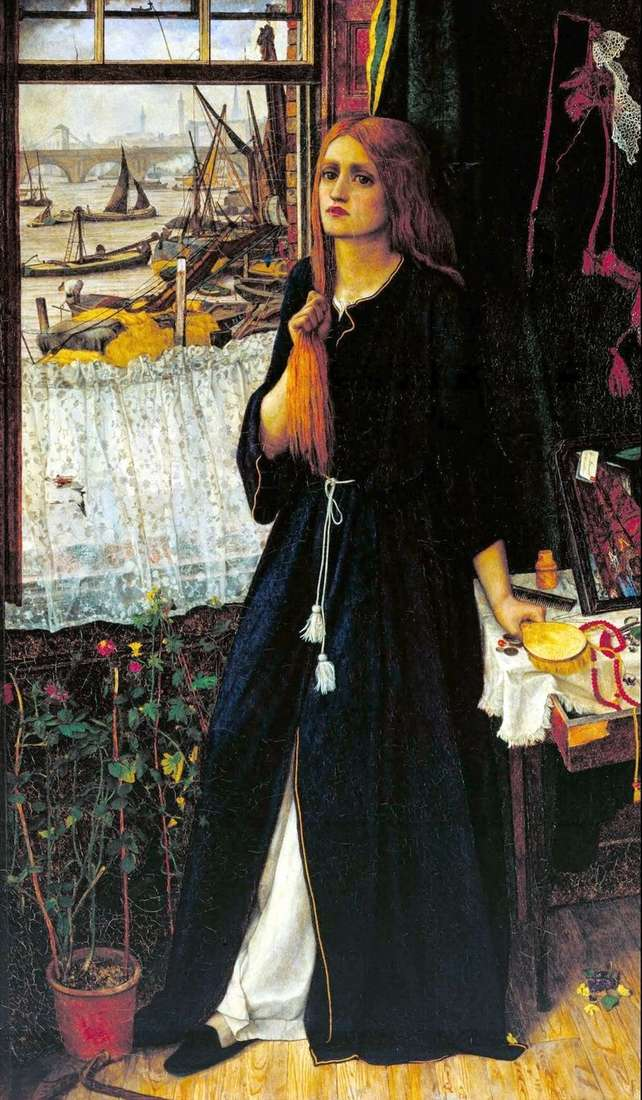 Thoughts on the past by John Roddam Spencer Stanhope