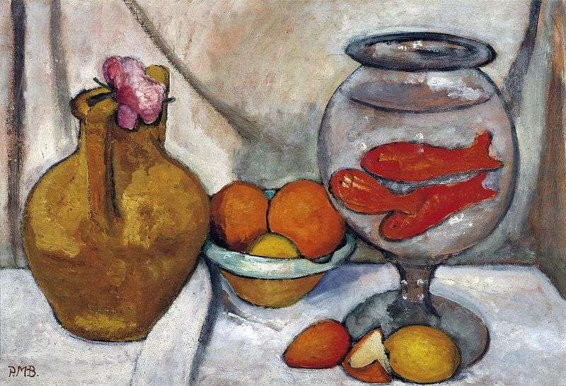 Still Life with Goldfish by Paula Moderzon Becker
