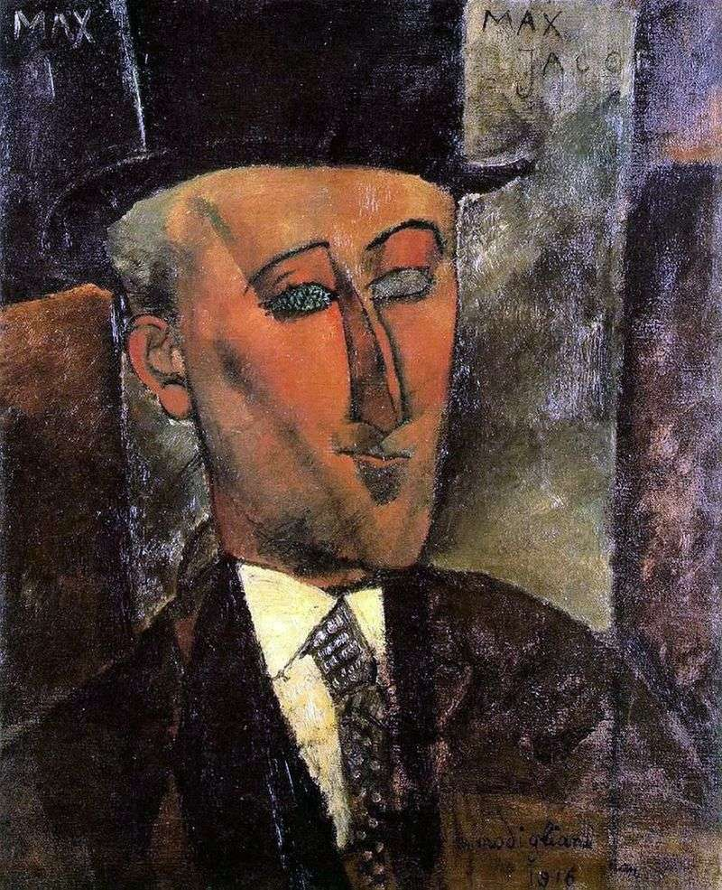 Max Zhakov by Amedeo Modigliani