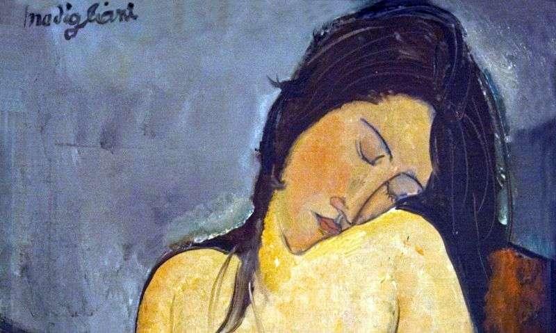 Seated Nude by Amedeo Modigliani