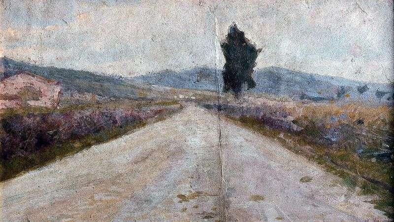 Tuscan Road by Amedeo Modigliani