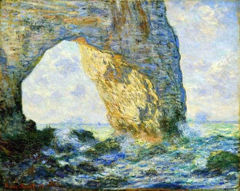 Mannport by Claude Monet