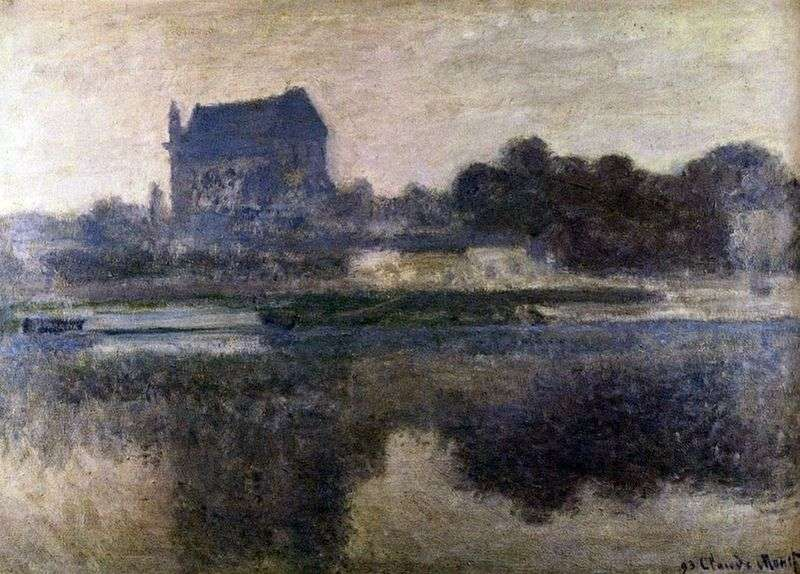 Church in the Fog by Claude Monet