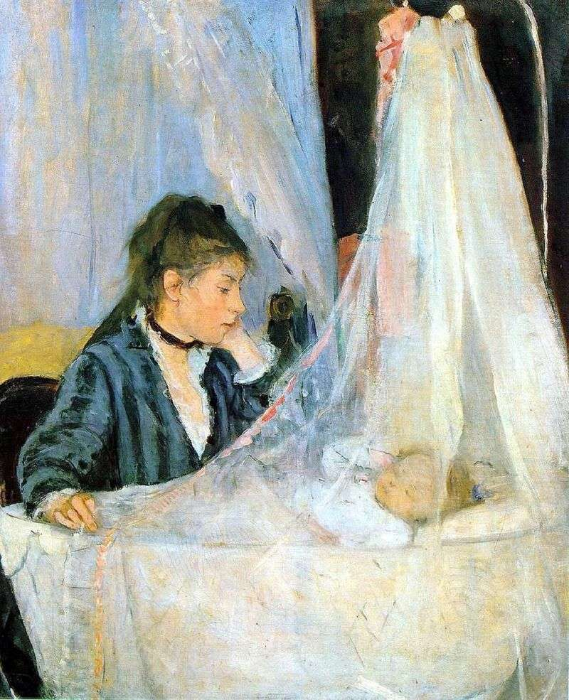 Cradle by Bertha Morisot