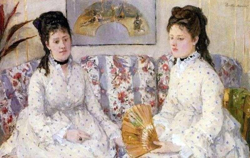 Sisters by Bertha Morisot