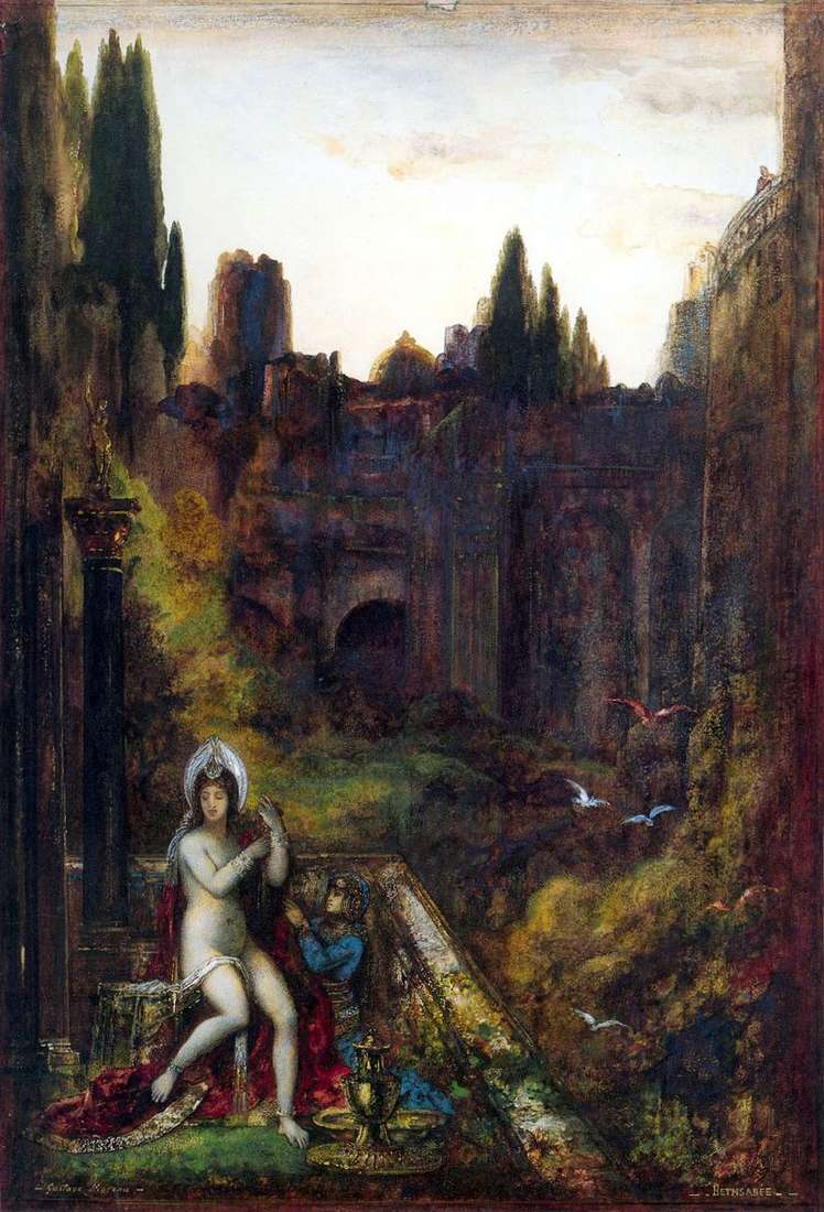 Bathsheba by Gustave Moreau