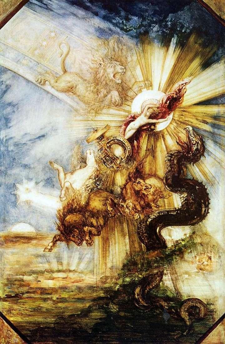 Phaeton by Gustave Moreau