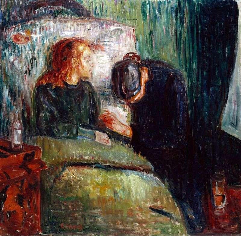 Sick Child by Edvard Munch