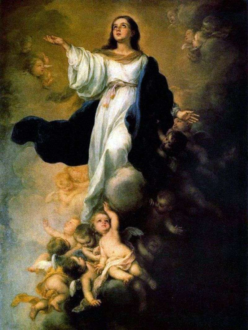 Assumption of the Virgin Mary by Bartolome Esteban Murillo