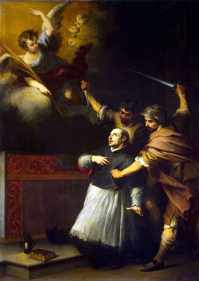 Death of the Inquisitor Pedro de Arbuez by Bartolomeo Esteban Murillo