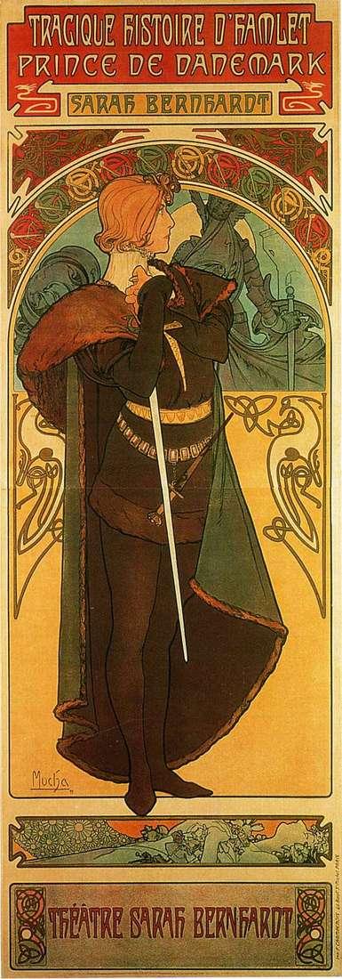Hamlet, Prince of Denmark by Alphonse Mucha