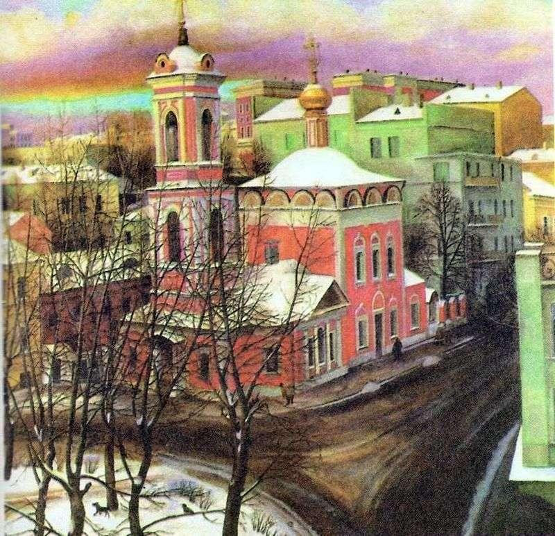 Church of the Ascension on Nezhdanova Street by Tatyana Nazarenko