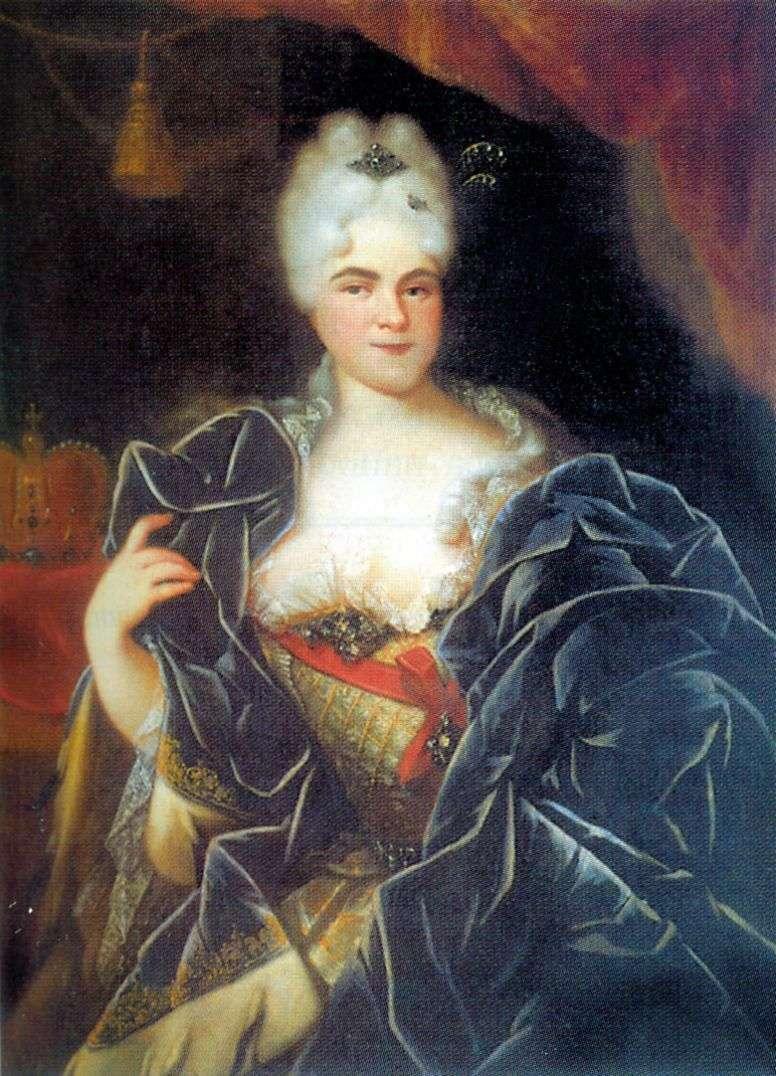 Portrait of Empress Catherine I by Ivan Nikitin