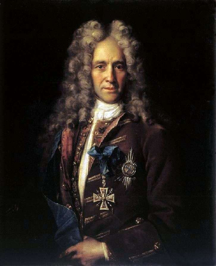 Portrait of Chancellor GI Golovkin by Ivan Nikitin