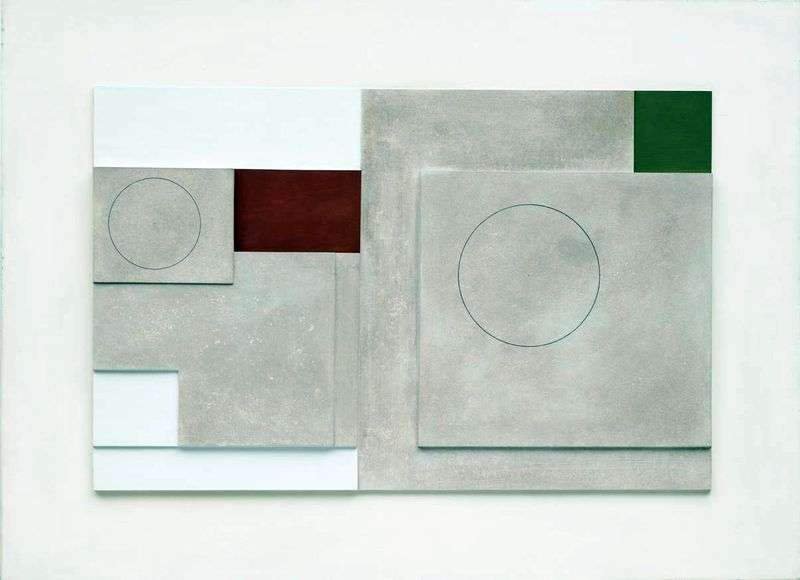 Painted relief by Ben Nicholson