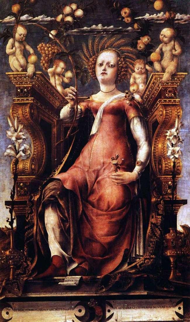 Muse Talia by Michele da Pannonio