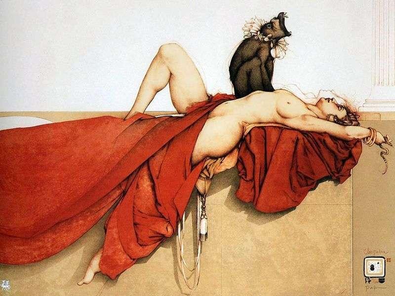 Cleopatra by Michael Parkes