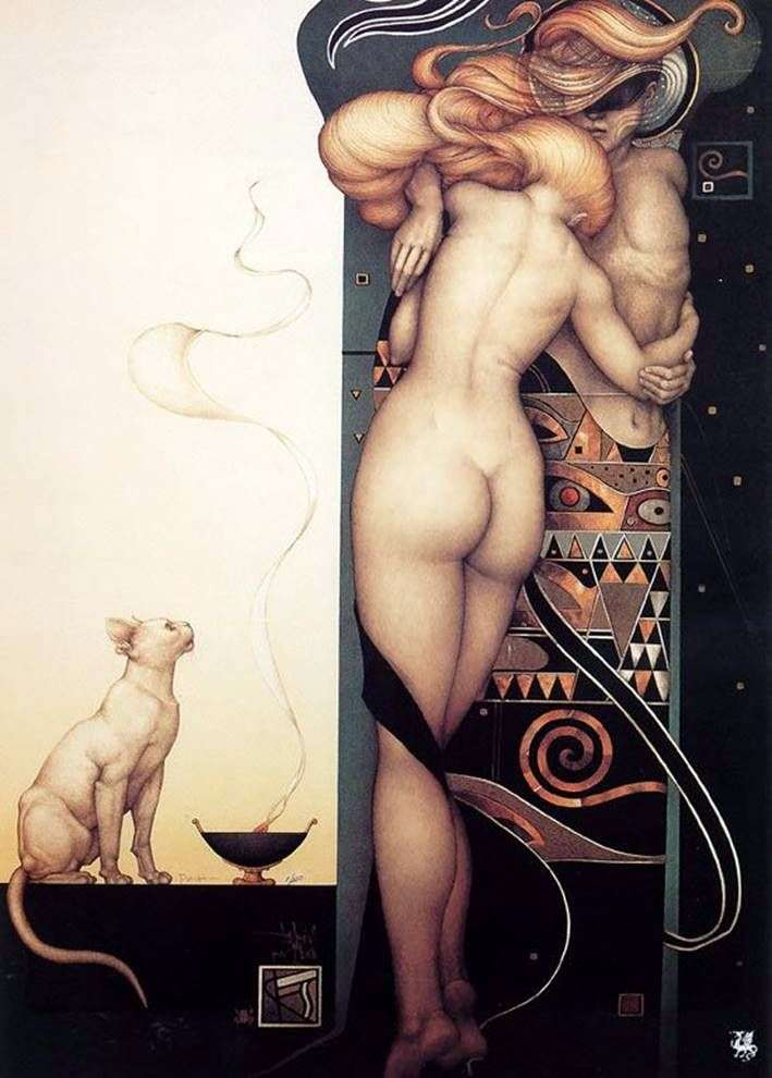 Night and Day by Michael Parkes