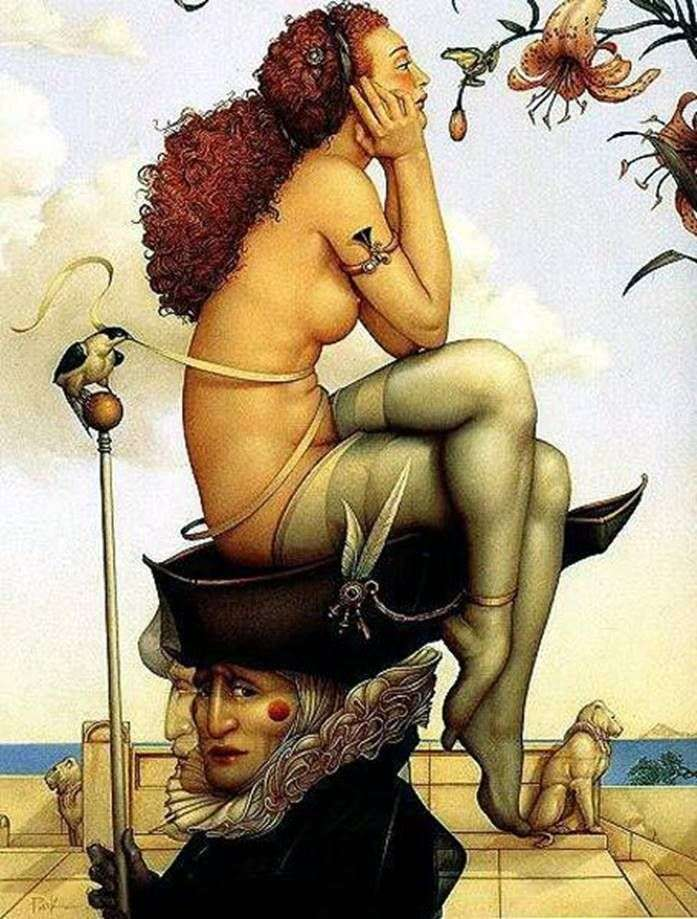 Waiting by Michael Parkes