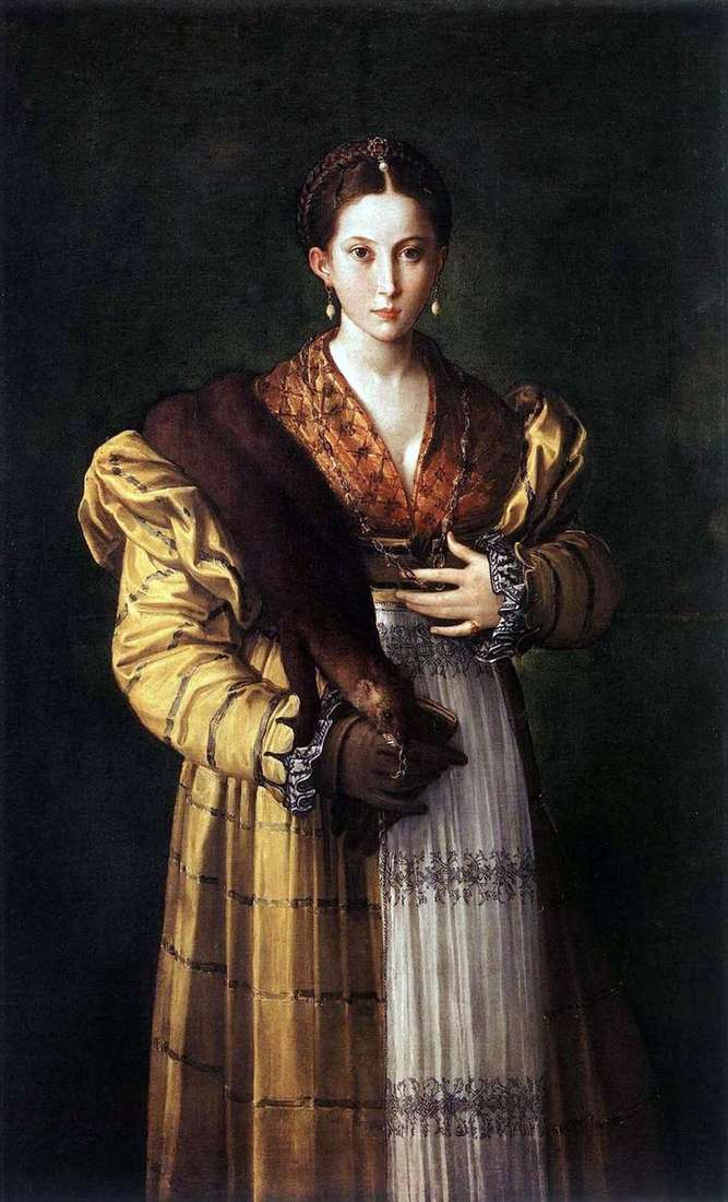 Anthea by Francesco Parmigianino