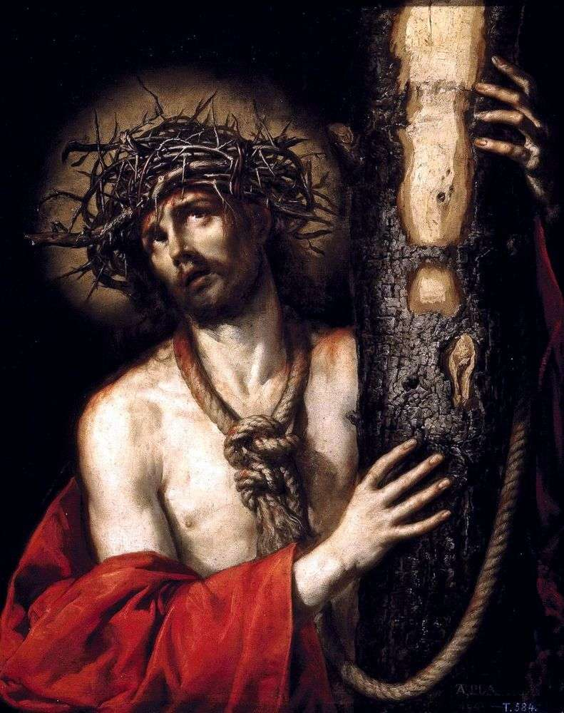 Crowning with a Crown of Thorns by Antonio de Pereda