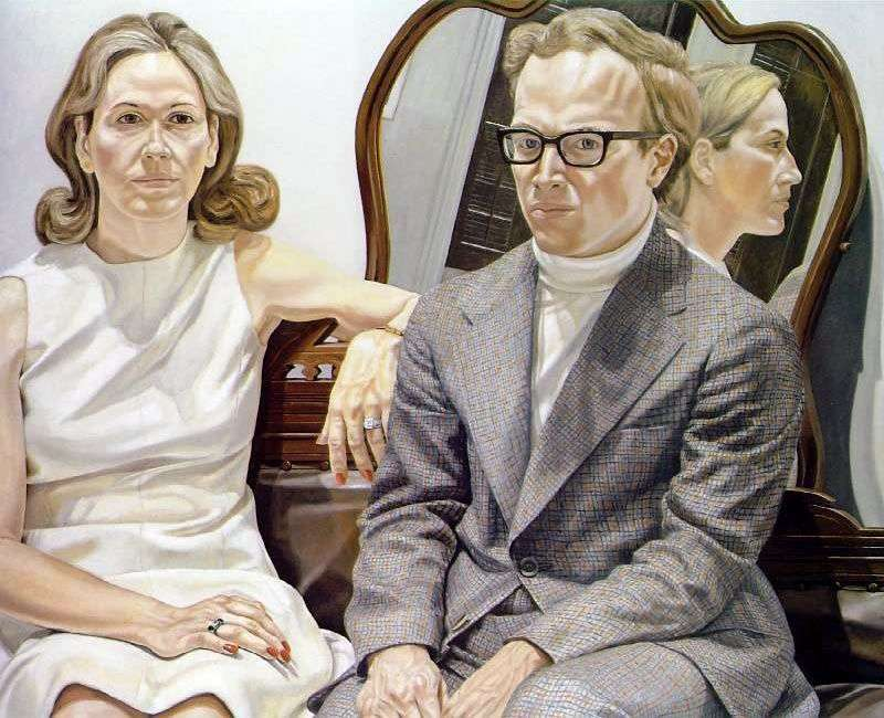 Mrs. and Mr. Edmund Pillsbury by Philip Perlstein