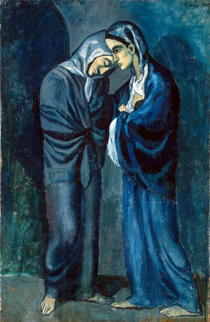 Two Sisters (Date) by Pablo Picasso