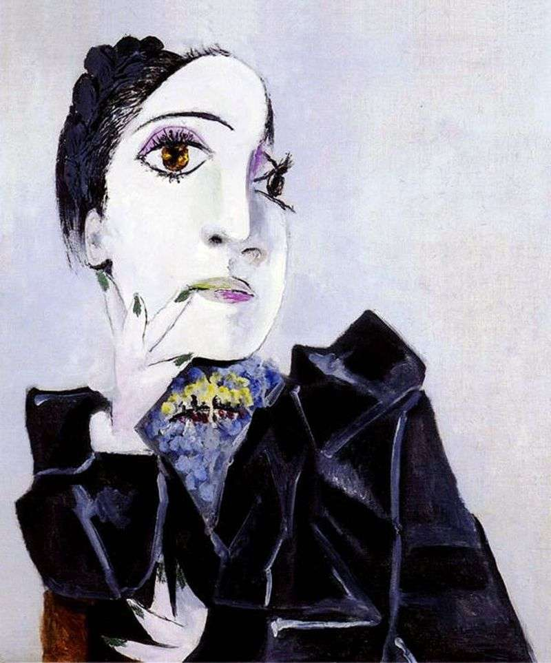 Dora Maar with Green Nails by Pablo Picasso