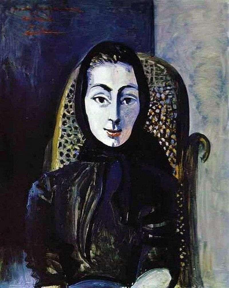 Jacqueline Rock by Pablo Picasso