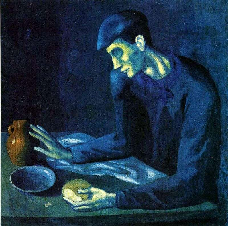 Breakfast of the Blind by Pablo Picasso