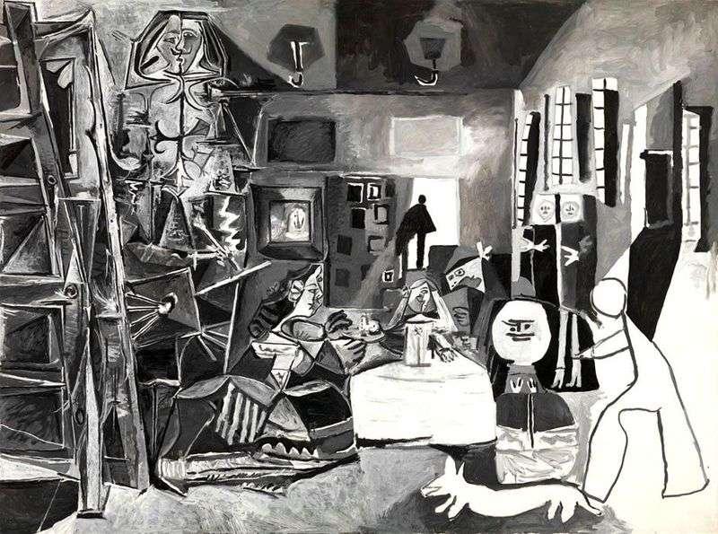 Meninas of Velasquez by Pablo Picasso