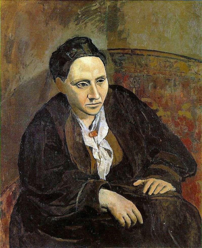 Portrait of Gertrude Stein by Pablo Picasso