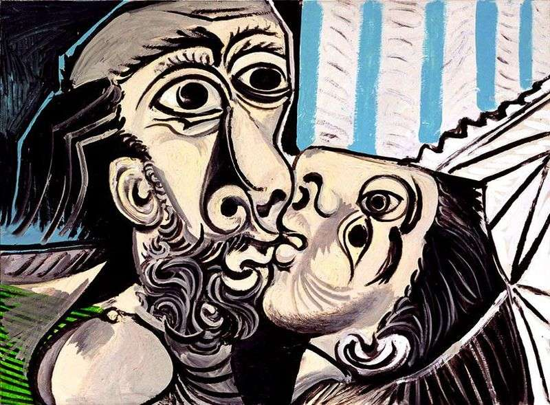 Kiss by Pablo Picasso