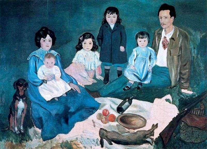 The Soler Family by Pablo Picasso