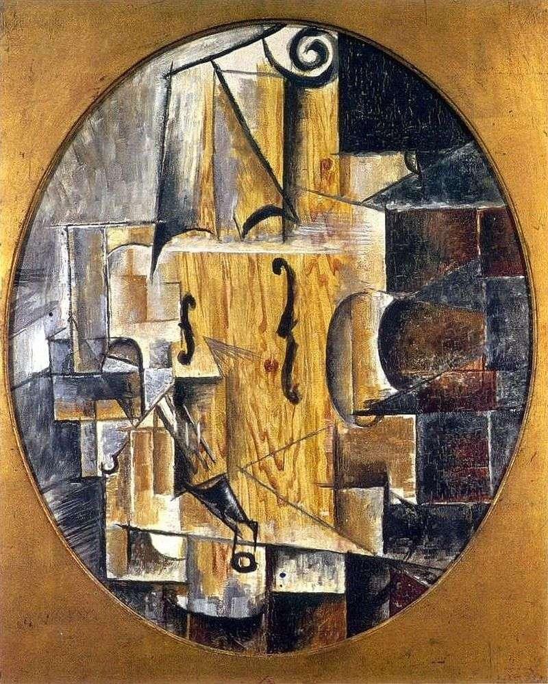Violin by Pablo Picasso
