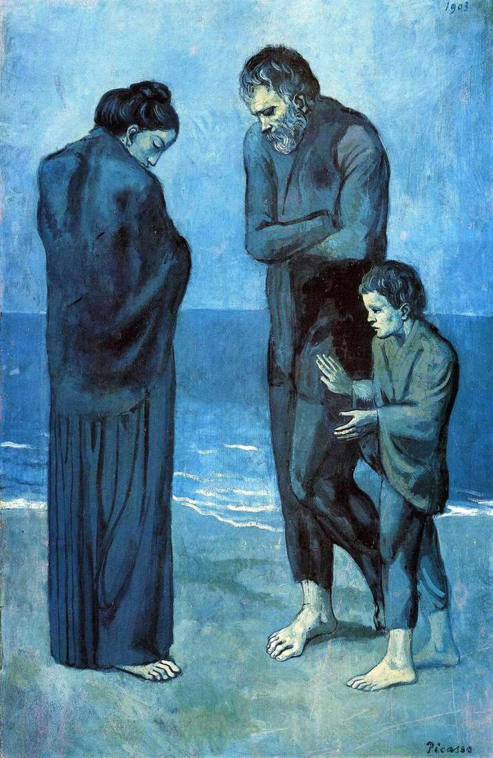 Tragedy by Pablo Picasso