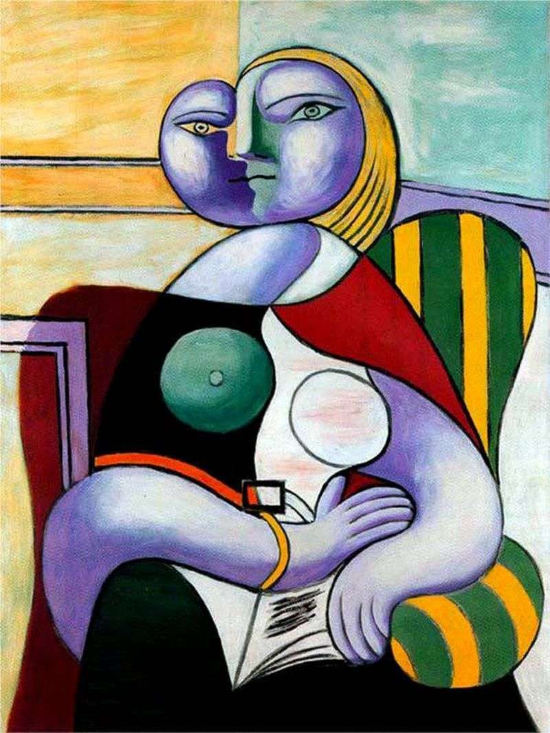 Reading by Pablo Picasso