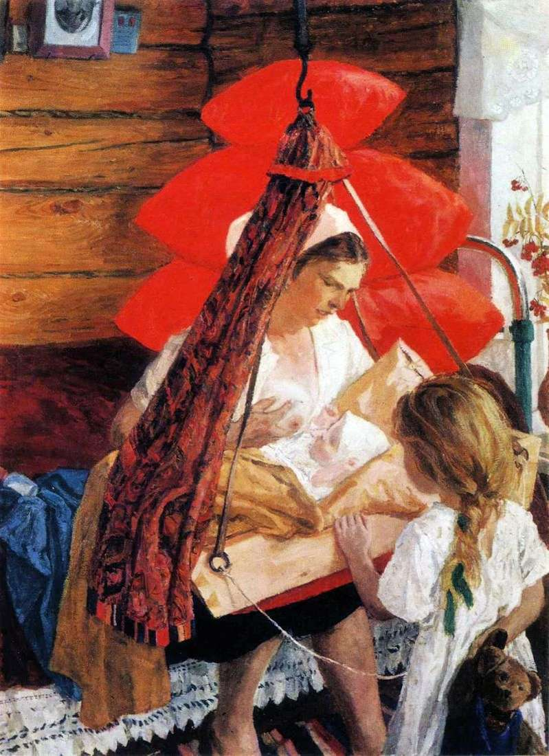 Mama by Arkady Plastov