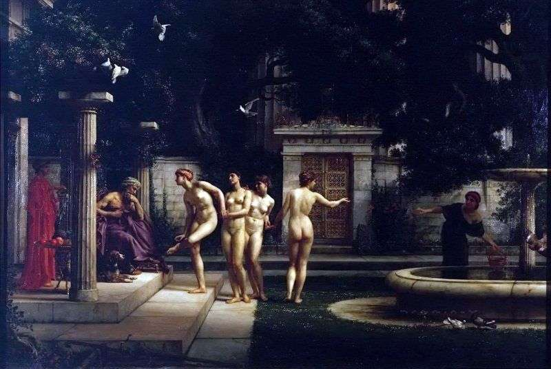 Visit to Asclepius by Edward John Pointer