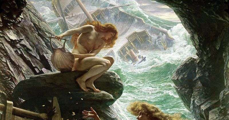 Storm Nymph Cave by Edward John Pointer