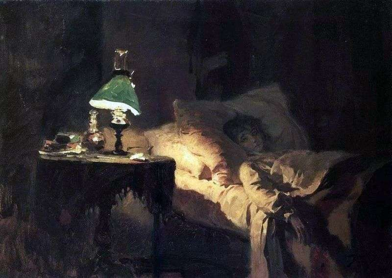 The patient by Vasily Polenov