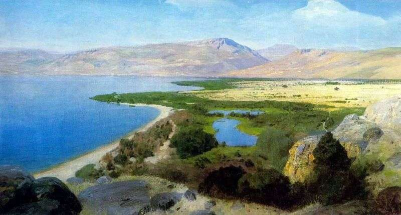 Lake Genisaret by Vasily Polenov