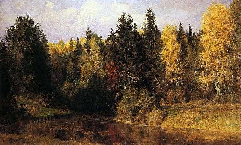 Autumn in Abramtsevo by Vasily Polenov