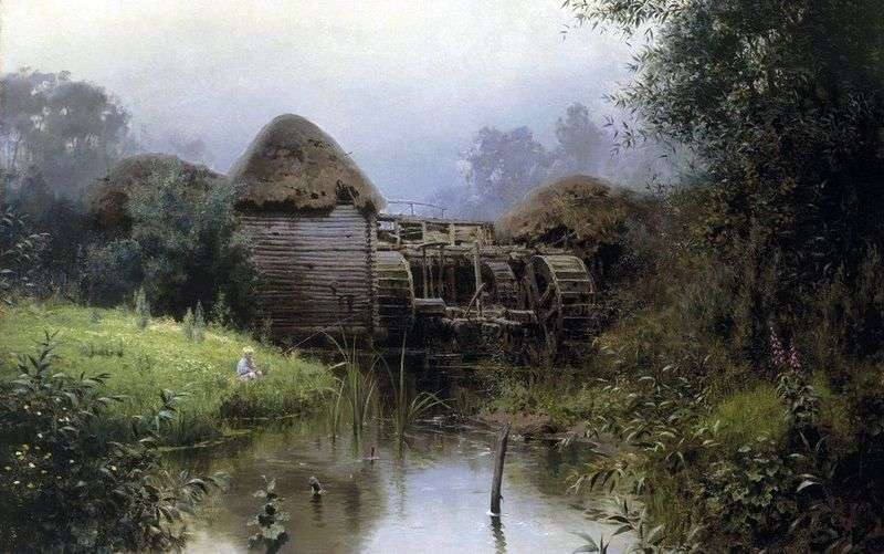 Old Mill by Vasily Polenov