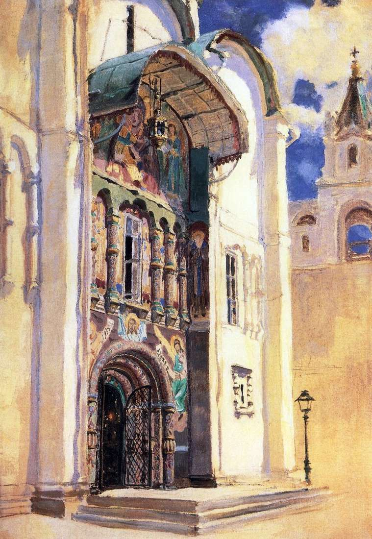 Assumption Cathedral. South Gate by Vasily Polenov