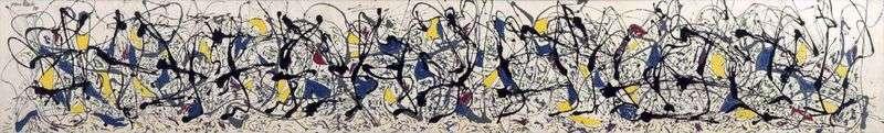 Summer by Jackson Pollock